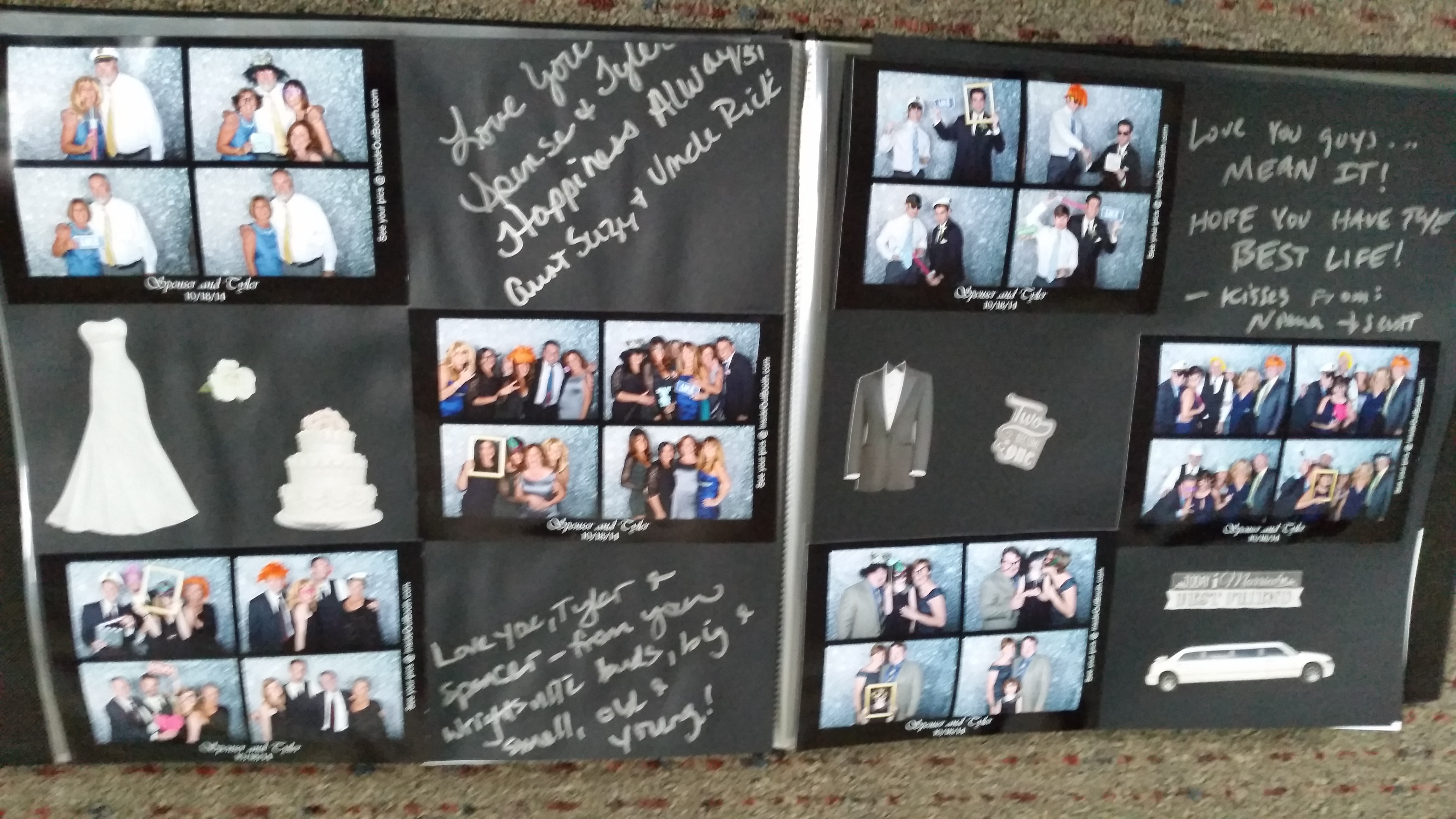 Wedding Scrapbook for Photo Booth